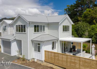 Freshly painted house in Wellington